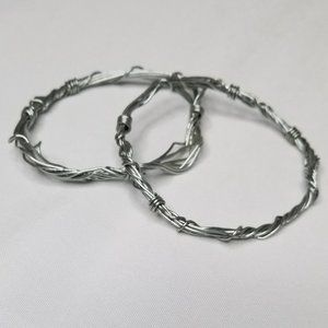 """✖SET OF """"BARBED WIRE"""" style bracelets"""